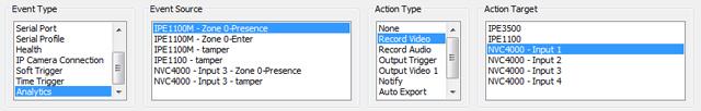 UDP video analytics