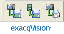 exacqVision Search Result Ribbon