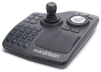 exacqVision Surveillance Keyboard