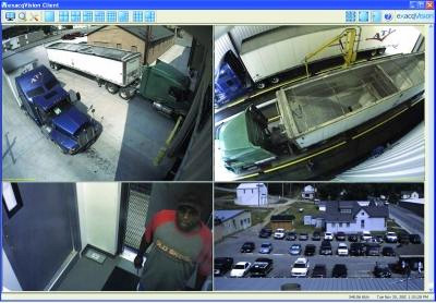exacqVision IP video surveillance software at Diamond Pet Foods