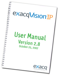 exacqVision User Manual Version 2.8