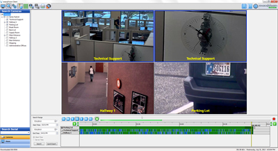 exacqVision LC-Series Hybrid Video Recorder pre-installed with exacqVision VMS software