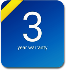 exacqVision C-Series comes with a 3 year warranty