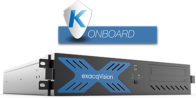 exacqVision NVR Kantech Access Control Onboard
