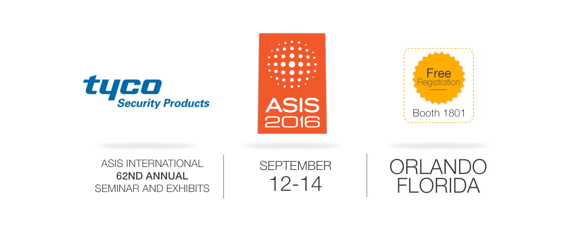 exacqVision will be at ASIS 2016