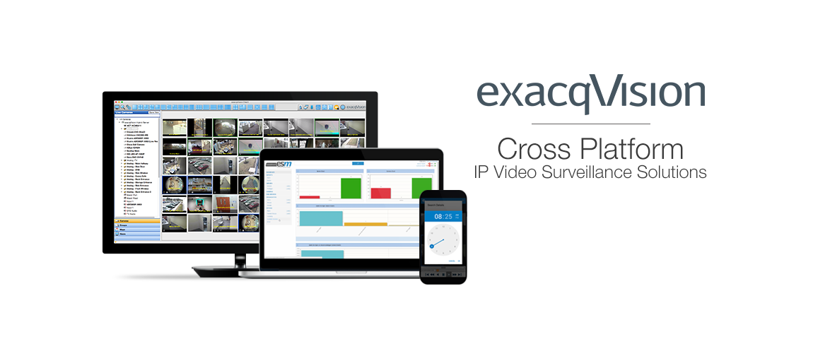 cross platform, easy-to-use, IP video surveillance solution